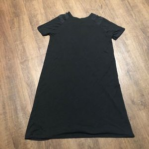 ASOS Black short sleeve Dress Size 6